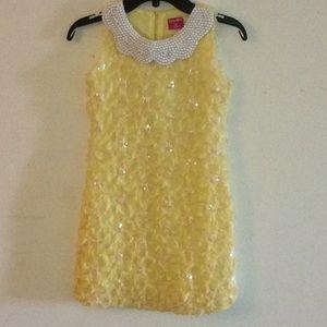 Other - Ruffle yellow dress